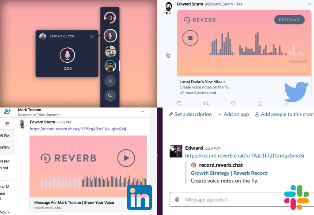 Sending voice messages across all platforms and systems