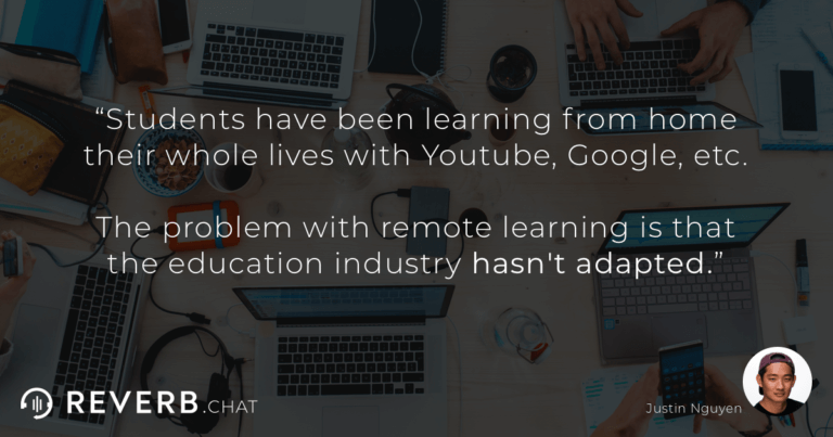Students have been learning from home their whole lives with Youtube, Google, etc. The problem with remote learning is that the education industry hasn't adapted.